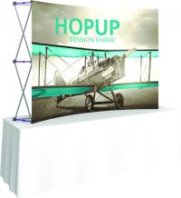 8ft tabletop display for portable exhibits