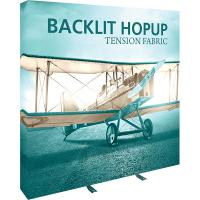 Orbus Hopup 7.5ft Backlit Straight Tension Fabric Display