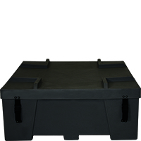 Orbus OCF2 hard plastic freight shipping crate