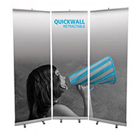 View: Orbus Quickwall Retractable Banner Display