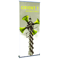 Orbus Orient 1 Retractable Banner Stand