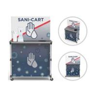 View: Portable PopUp Sani-Cart Large