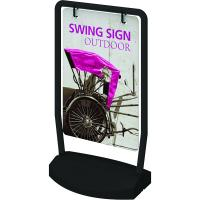 Swing Weather resistant Outdoor Sign