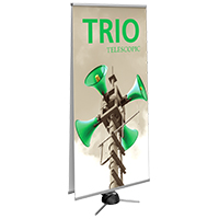 Orbus Trio 2 Adjustable banner stands