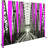 Orbus Vector Frame Backlit fabric banner kit 5