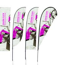Orbus Zoom Flex Medium in 4 different graphic shapes