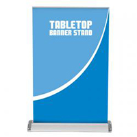 View: Breeze 2 Retractable Tabletop Banner Stand