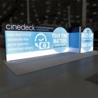 We can help you design your next geometric custom trade show display