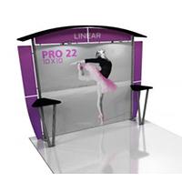 View: 10' x 10' Linear PRO Display - Kit 22
